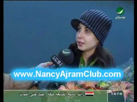 Nancy Ajram- Back From USA- Interview (Rotana)
