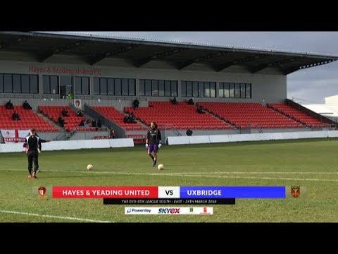 Hayes & Yeading v Uxbridge - 24th March 2018