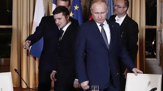El presidente de Ucrania Zelenksi invita a Putin a una reunión en la zona de guerra