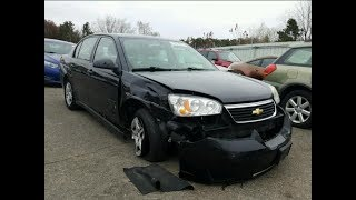 I Won A 2007 Chevy Malibu From Copart For $350!!!