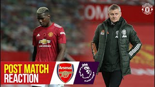 Post Match Reaction   Manchester United 0-1 Arsenal   Premier League