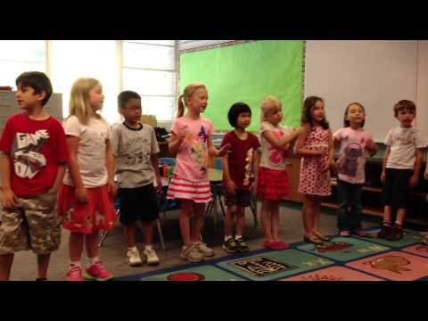 Ava's Kindergarten Graduation...ABC Goodbye Song
