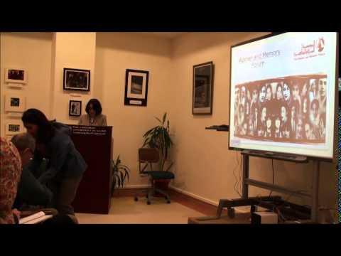 "Hoda Elsadda ""Creativity,Activism, and Public Memory"""