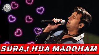 Suraj Hua Maddham - Sonu Nigam   K3G   Sonu Nigam Live in Concert   m3 entertainment