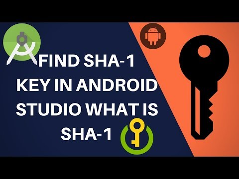 How to get SHA-1 key fingerprint in Android Studio and command/what is  SHA-1?