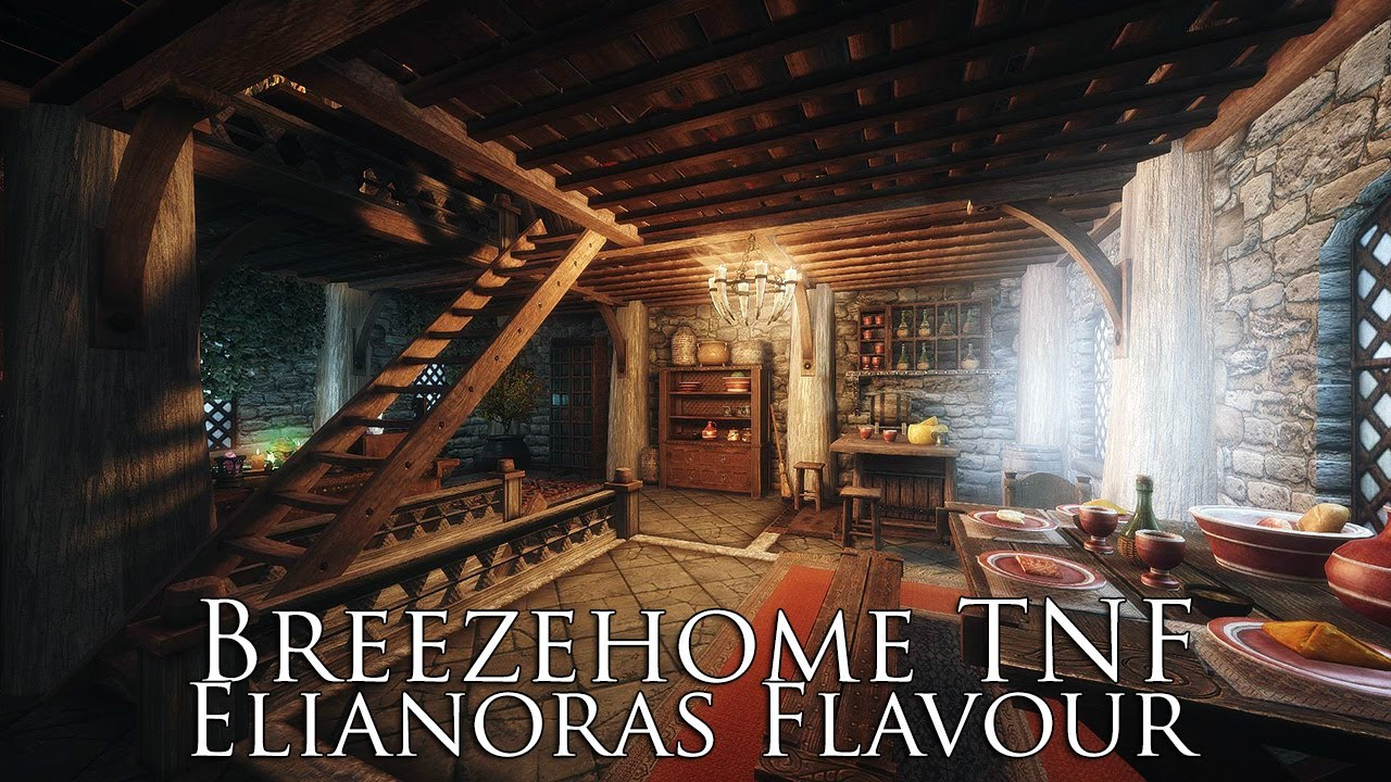 Tes v skyrim mods breezehome tnf elianoras flavour for Best house designs skyrim