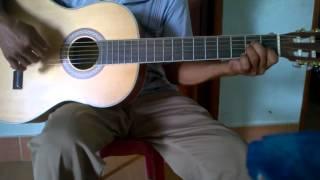 Cách đàn bolero phăng tông Am - guitar quang bình