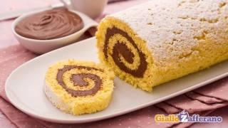 Nutella Swiss Roll - Recipe