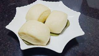 Cách làm Bánh Bao Khoai Lang Bằng Bột Mì Đa Dụng vỏ trắng xốp mềm, dễ làm không cần bột nở
