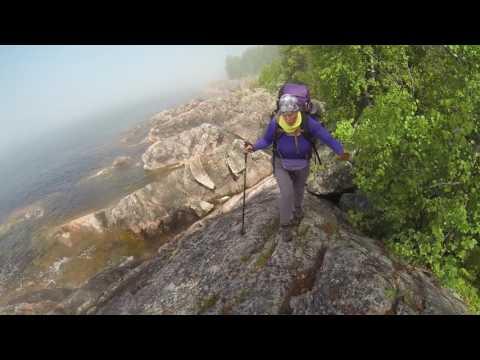 coastal hike lake superior 2017