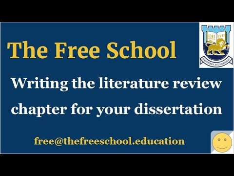 PhD thesis literature review