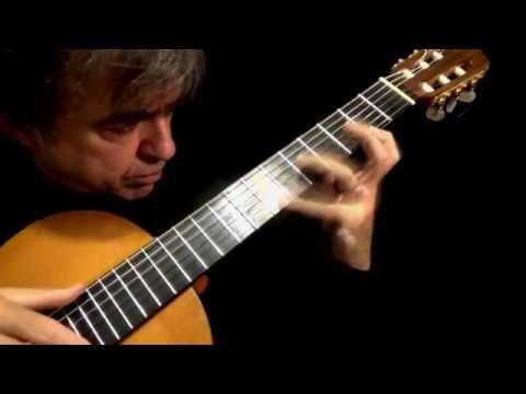 CLAIR DE LUNE ( Claude Debussy) Classical Guitar By Carlos Piegari