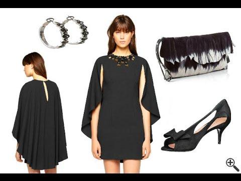 Elegante Sexy Mini Kleider Outfit in schwarz - YouTube