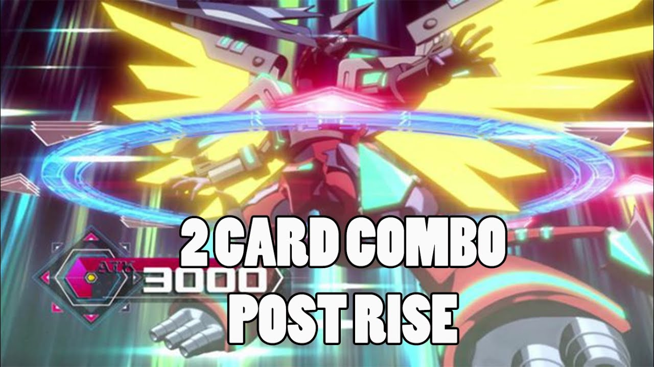 YUGIOH 2 CARD Rokket Combo Post Rise Of The Duelist
