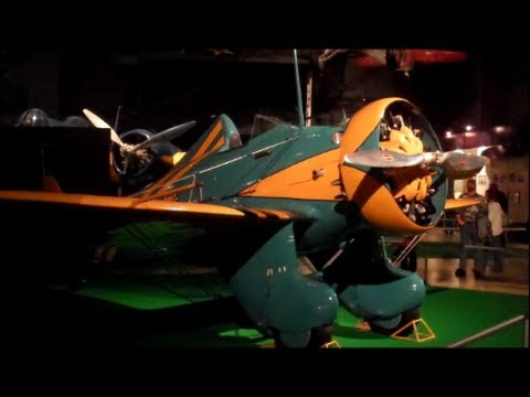 P-26 Peashooter at Air Force Museum