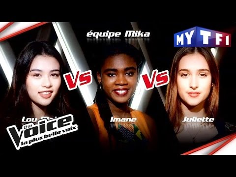 Lou-Mai VS Imane VS Juliette | The Voice France 2017 | Epreuve Ultime