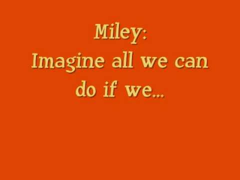 Send It On Lyrics - Disney Channel Stars
