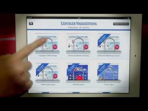 Das LVZ-E-Paper - Ihre Zeitung auf dem iPad