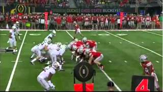 2015 National Championship: #2 Oregon vs. #4 Ohio State