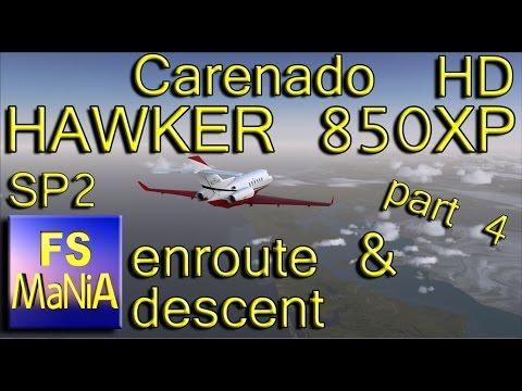 Carenado HAWKER 850XP part 5 Approach & Landing by FS MaNiA