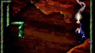 Earthworm Jim 2 - SNES Gameplay