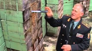Генерал спецназа Костя Сирык метает ножи