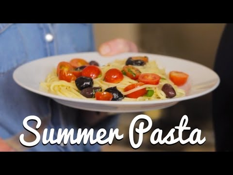 Simple End of Summer Pasta - Crumbs