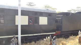 Victoria Falls Steam Train, Zimbabwe Oct 2018