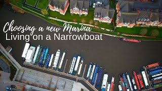 Living on a Narrowboat and choosing a new Marina to live on.