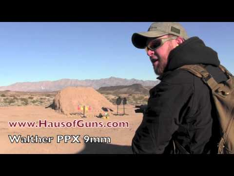 Walther PPX 9mm - SHOT Show 2013
