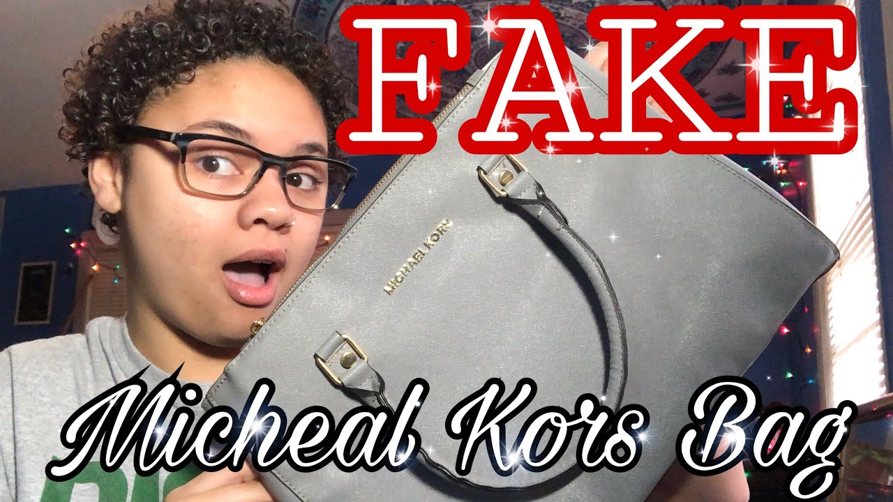 I Bought A Fake Michael Kors Bag Ioffer Review Youtube