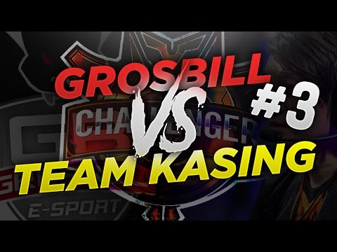 TEAM KASING (RB) VS. GROSBILL ESPORT - EU CHALLENGER SERIES QUALIFIER #3