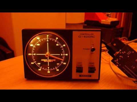 Easy Rotor Control Interface for Yaesu G-400rc /1