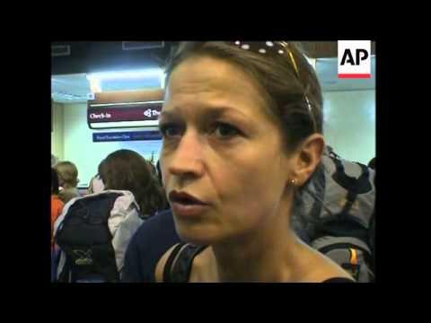 Airport chaos at Phuket
