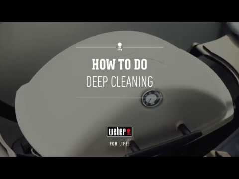 How to do deep cleaning of the Weber Q grill