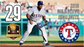 Adrian Beltre | 2016 Gold Glove Highlights