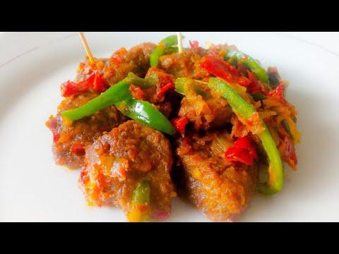 Prepare Super Nigerian Peppered Meat(Beef)