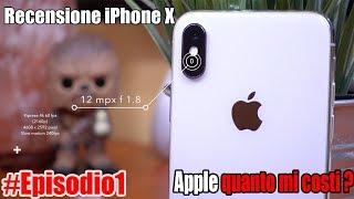 iPhone X Recensione dopo 2 mesi  [ ITA ] - Apple quanto mi costi ? Episodio 1