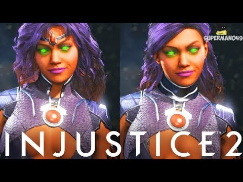 Injustice 2: Starfire Epic Gear Showcase! - Injustice 2 Epic Gear Showcase With Starfire
