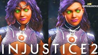Injustice 2: Starfire Epic Gear Showcase! - Injustice 2 Epic Gear Showcase With Starfire