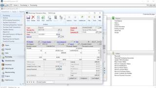 Overview of MS Dynamics GP Landed Cost