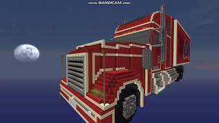 Minecraft Coca Cola Christmas truck