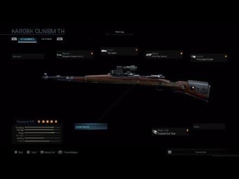 Download Modern Warfare® 2019 ALL KAR98K Customization and Attachments   Gunsmith MAX level