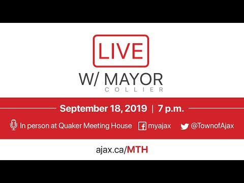 LIVE with Mayor Collier - September 18, 2019