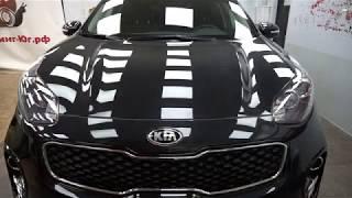 Бронирование (антигравийное покрытие) автомобиля Kia Sportage