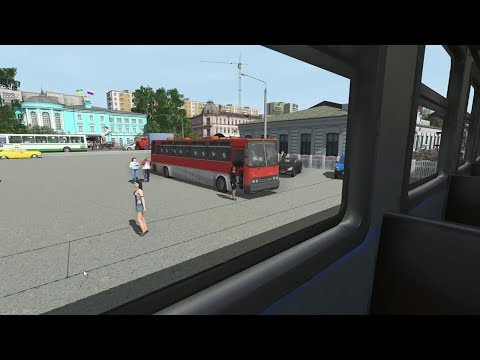 Trainz Railroad Simulator 2019 Balezino-Mosti (Mosti -Balezino электропоездом)