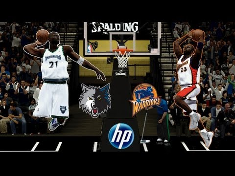 NBA 2K14: Minnesota Timberwolves vs. Golden State Warriors (2003-2004 NBA season)