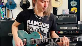 Europe - Never Say Die Kee Marcello guitar solo cover Gibson Les Paul Modern Mesa Dual Rectifier