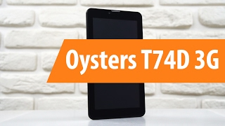 распаковка Oysters T74D 3G / Unboxing Oysters T74D 3G