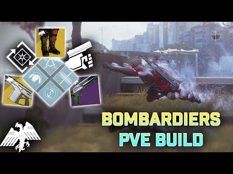 Bombardiers PVE Build (Arcstrider, Way Of The Warrior) | Destiny 2 Season Of Dawn